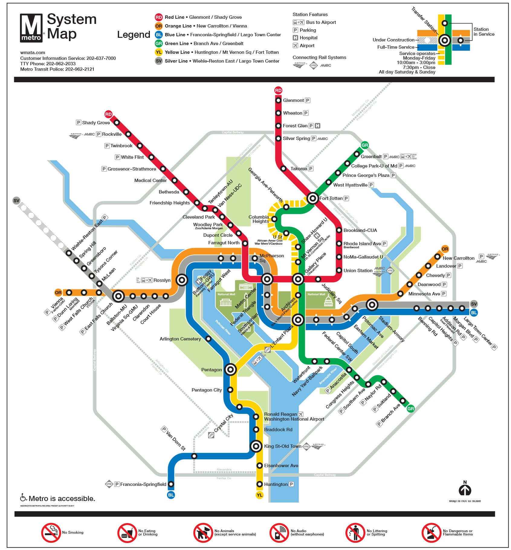 Metro System - Travel Through Montgomery County | Visit ...