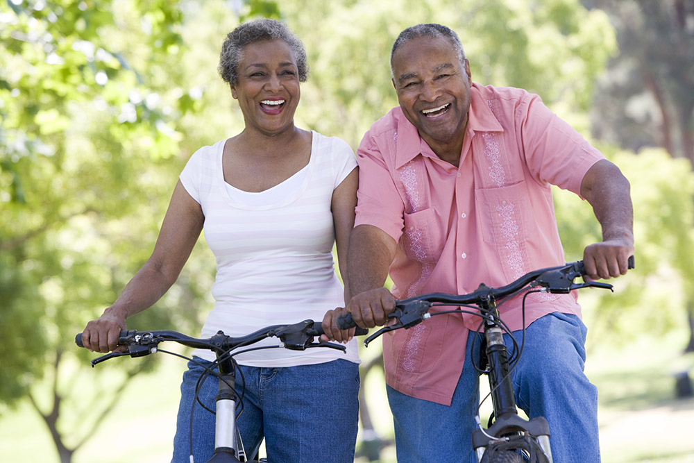 Take a leisurely bike ride on one of the easy biking trails in Montgomery County, MD.