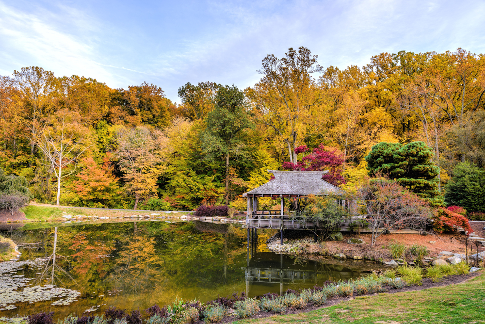Brookside Gardens in Montgomery County, Maryland