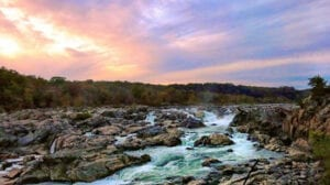 Great Falls Overlook in Montgomery County, Maryland