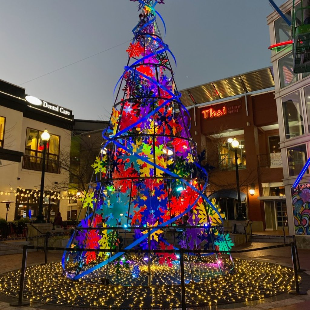 Downtown Silver Spring Tree 2020